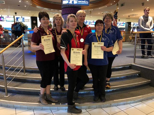LDM Seniorinnen 1. - 3. Platz