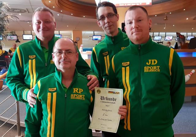2.Platz                 BC Flying Pins Genthin