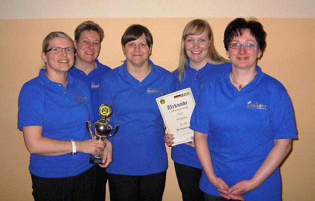 "1. Platz: BC ""Flying Pins"" Genthin"